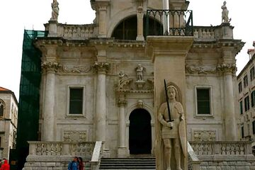 Dubrovnik - Statuia lui Roland