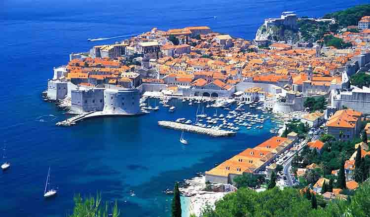 Obiective turistice Dubrovnik din Croatia