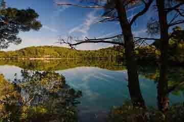 Insula Mljet - Lacul mic