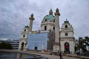 Viena - Biserica Sf Charles