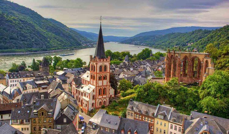 Obiective turistice Bacharach din Germania