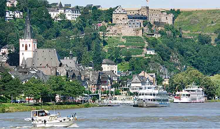 Obiective turistice St Goar din Germania