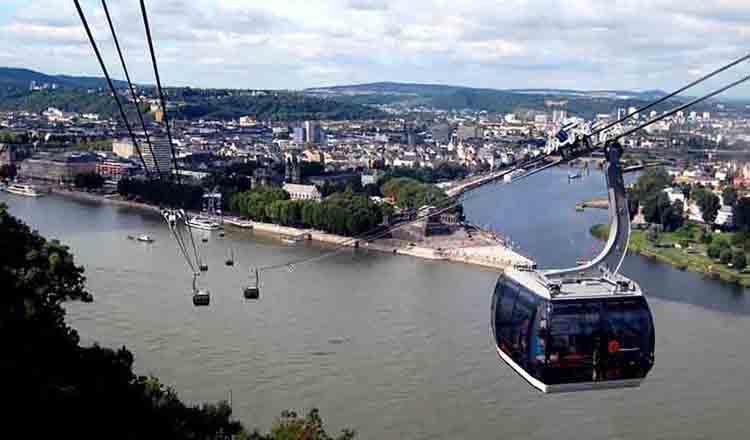 Obiective turistice Koblenz din Germania