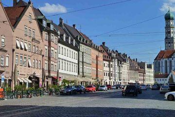 Augsburg - Maximilianstrasse