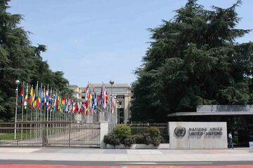 Geneva - Palatul Natiunilor Unite