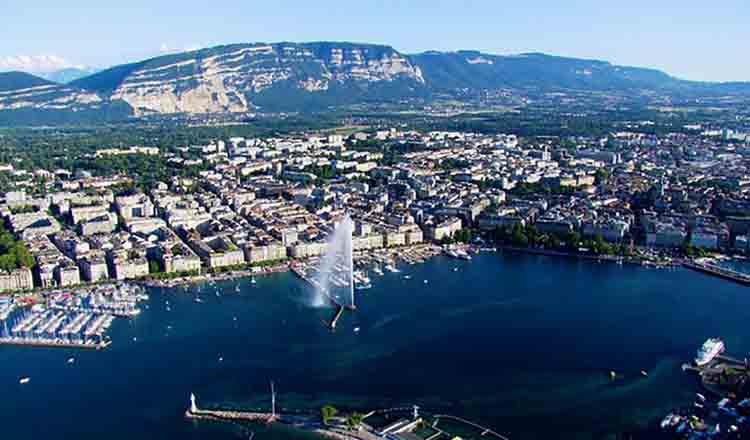 Obiective turistice Geneva din Elvetia