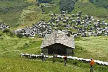 Cantonul Graubunden - Heidi-Dorf
