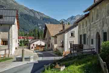 Cantonul Graubunden - Engadine