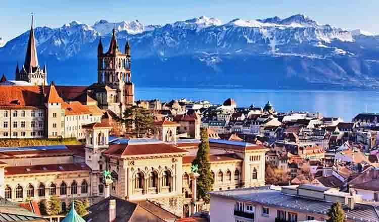 Obiective turistice Lausanne din Elvetia
