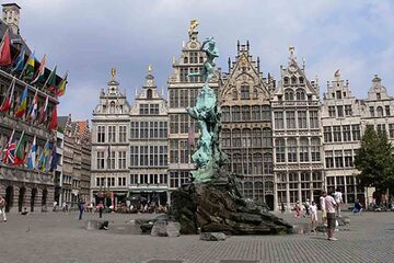 Anvers - Grote Markt (Piata Mare)