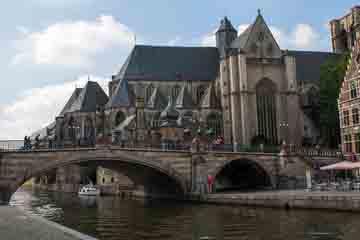 Gent - Podul Sfantul Mihail