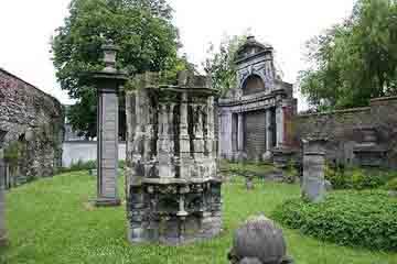 Gent - Ruinele abatiei St. Bavo