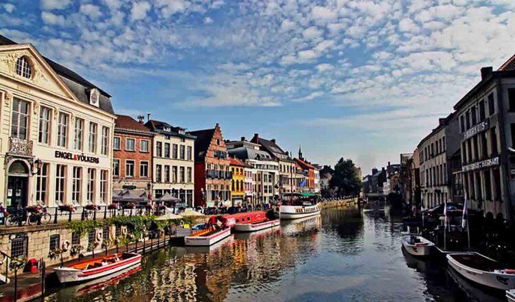 Obiective turistice Gent din Belgia