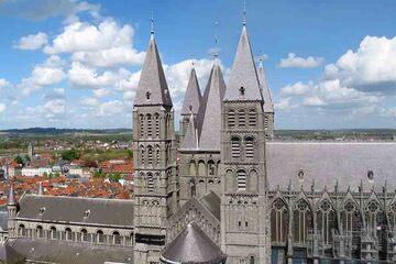 Tournai - Cathedrale Notre-Dame
