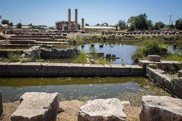 Xanthos - Cetatea din Xanthos