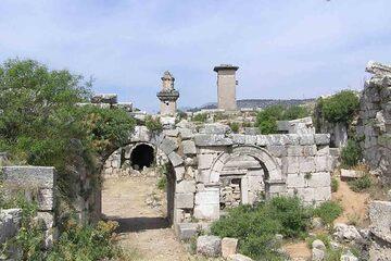 Xanthos - Arcul lui Vespasian