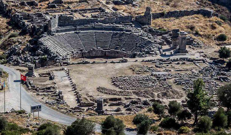 Obiective turistice Xanthos din Turcia
