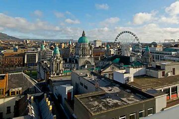 Belfast - Centrul orasului