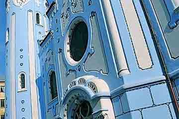 Bratislava - Biserica Albastra