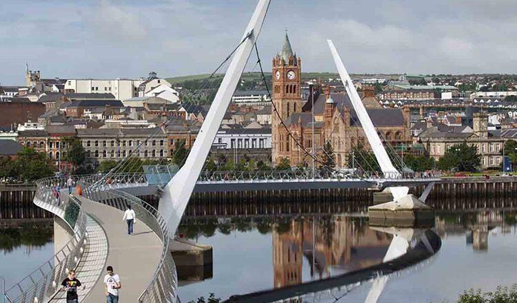 Obiective turistice Londonderry din Irlanda de Nord