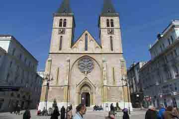 Sarajevo - Catedrala Inimii Sacre