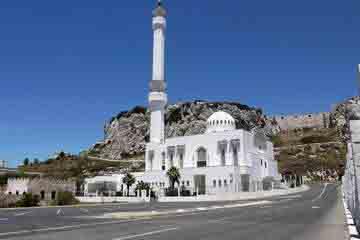 Gibraltar - Moscheea Ibrahim-al-Ibrahim