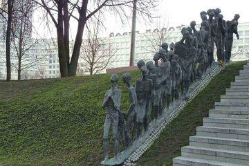 Minsk - Monumentul evreiesc Zaslavsky