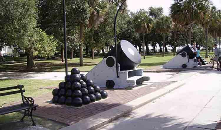 Bateria de artilerie Printesa Carolina
