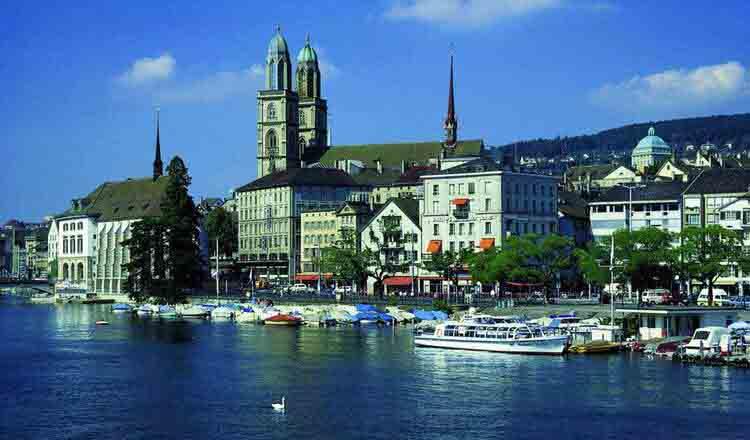 Obiective turistice Zurich din Elvetia