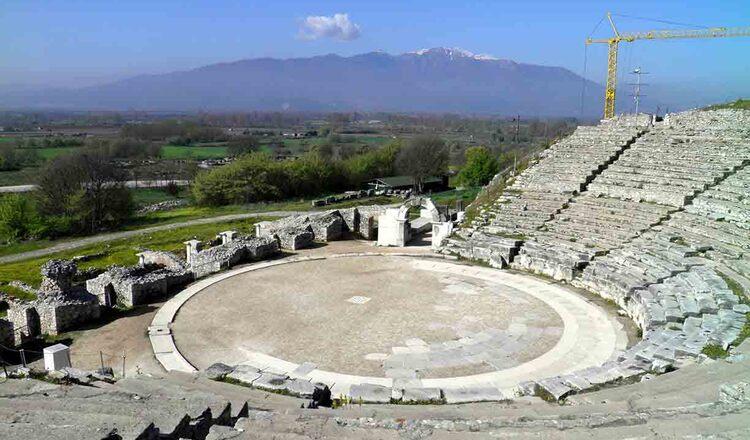 Obiective turistice Philippi din Grecia