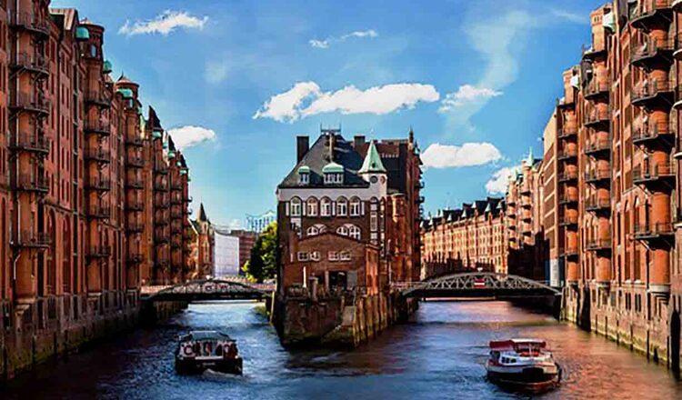 Orasul depozitelor din Hamburg - un loc magic in Europa