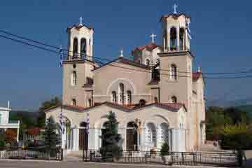 Prokopi - Biserica Agios loannis o Rossos