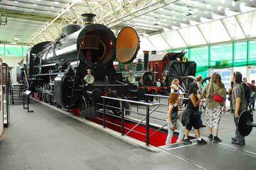 Lucerne - Muzeul Transporturilor din Elvetia