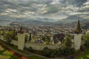 Lucerne - Zidul Musegg