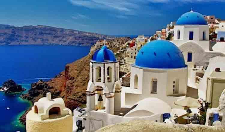 Obiective turistice Santorini din Grecia