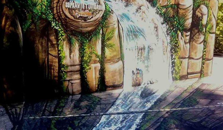 Descopera jungla din Filipine, prin pictura 3D din Parcul IOR, Bucuresti
