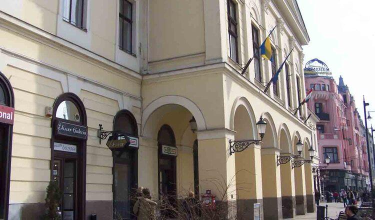 Cladirea din Old City Hall