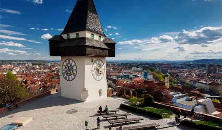 Obiective turistice Graz din Austria