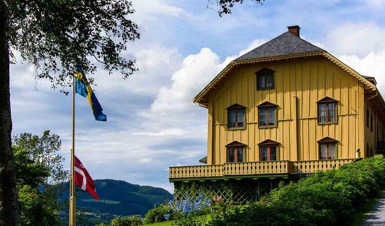 Obiective turistice Aulestad din Norvegia