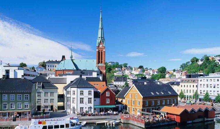 Obiective turistice Arendal din Norvegia