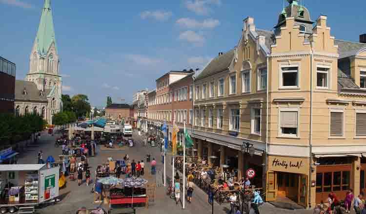 Obiective turistice Kristiansand din Norvegia