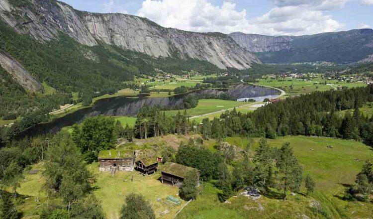 Obiective turistice Setesdal din Norvegia