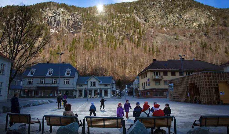 Obiective turistice Rjukan din Norvegia