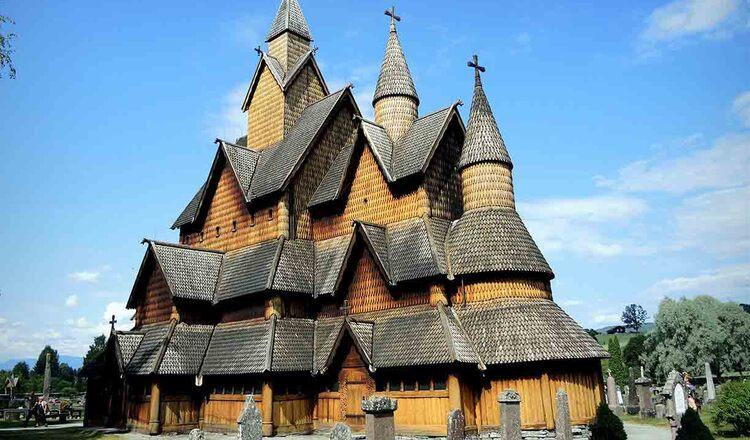 Obiective turistice Heddal din Norvegia