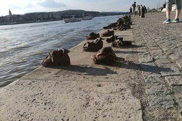 Budapesta - Pantofii de pe Dunare