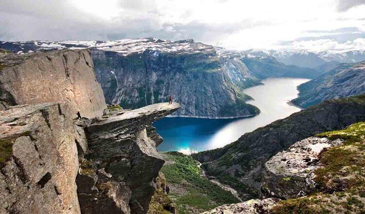 Obiective turistice Rosendal din Norvegia