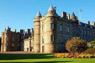 Edinburgh - Palatul Holyroodhouse si Holyrood Abbey