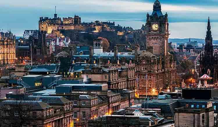 Obiective turistice Edinburgh din Scotia