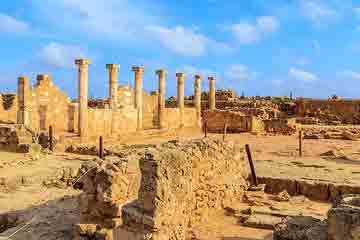 Paphos - Agora si Odeon