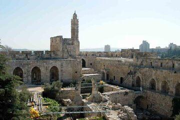 Ierusalim - Cetatea (Turnul lui David)